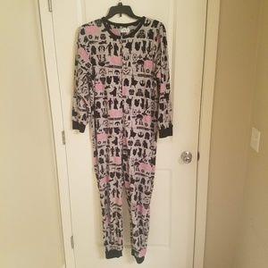 Star Wars Womens L/XL One Piece Pajamas